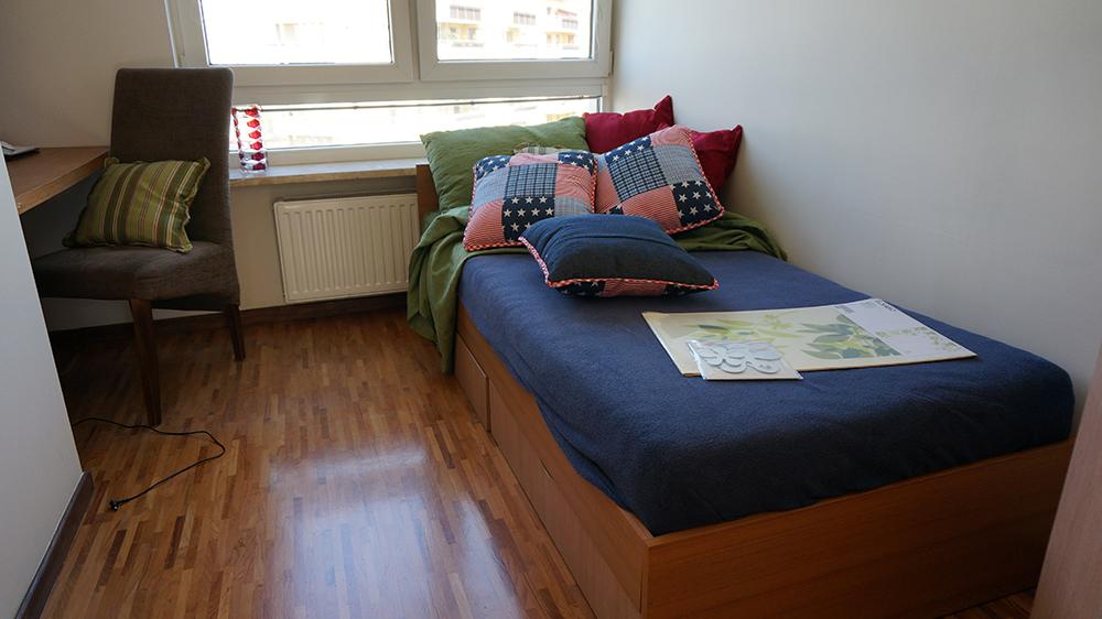 Sypialnia/gabinet - przed zmianą