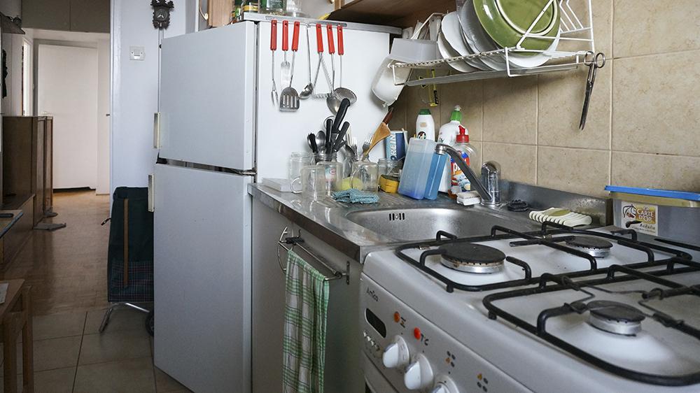 Kuchnia - przed zmianą