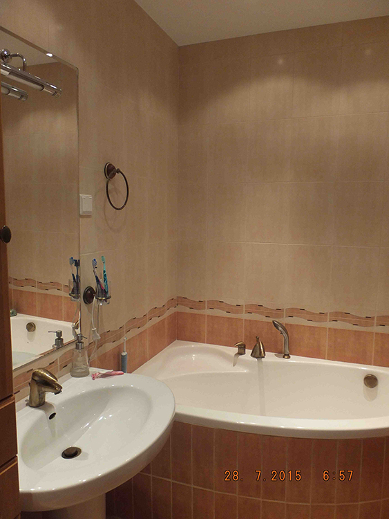Łazienka - przed stylizacją