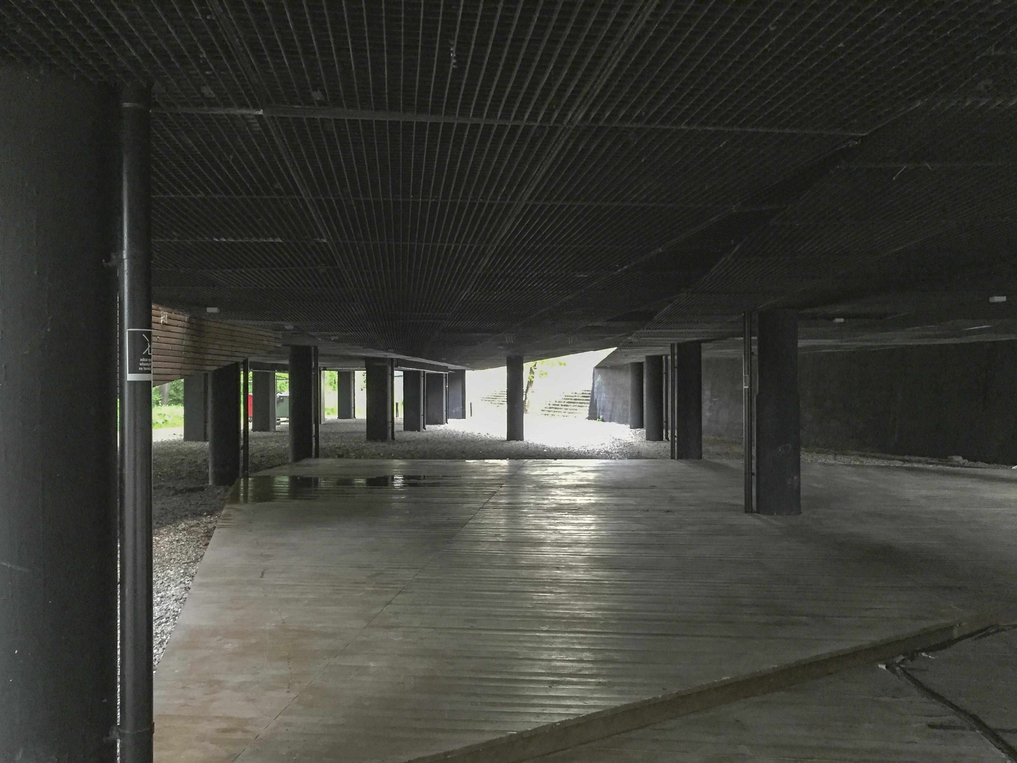 Przestrzeń wystawowa - przed zmianą