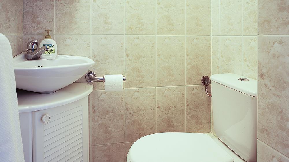 Mała łazienka - po zmianie