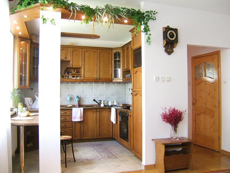 Kuchnia i salon - przed zmianą