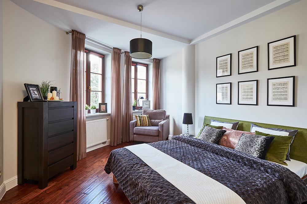 Sypialnia - po zmianie