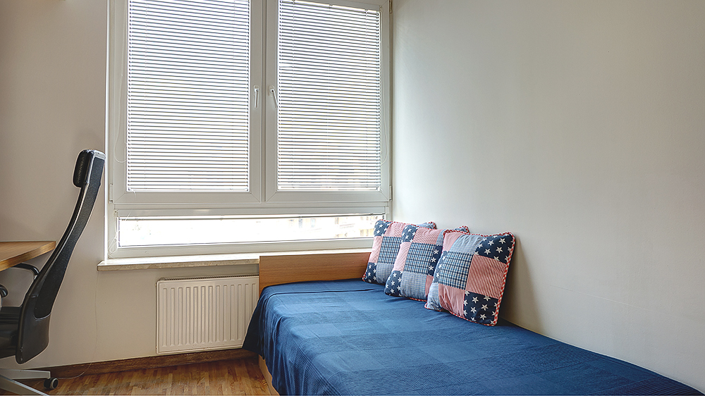 Sypialnia/gabinet - po zmianie