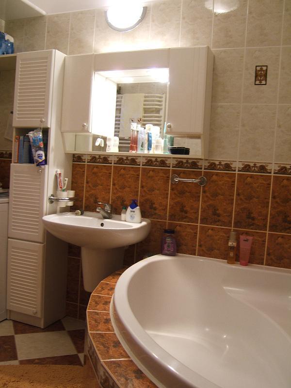 Duża łazienka - przed zmianą