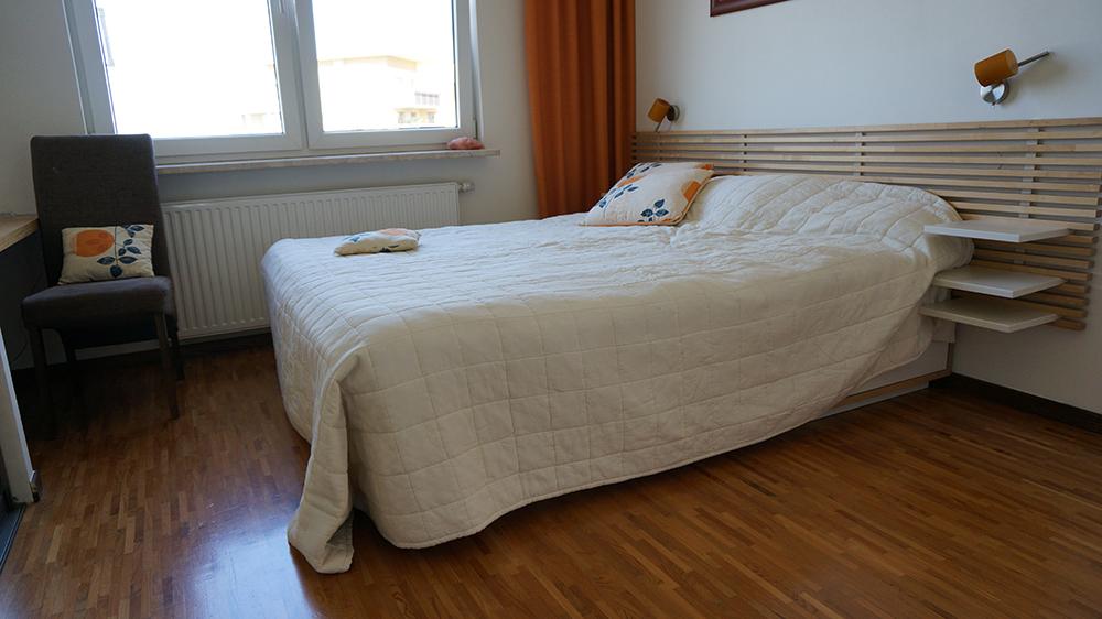 Sypialnia - przed zmianą