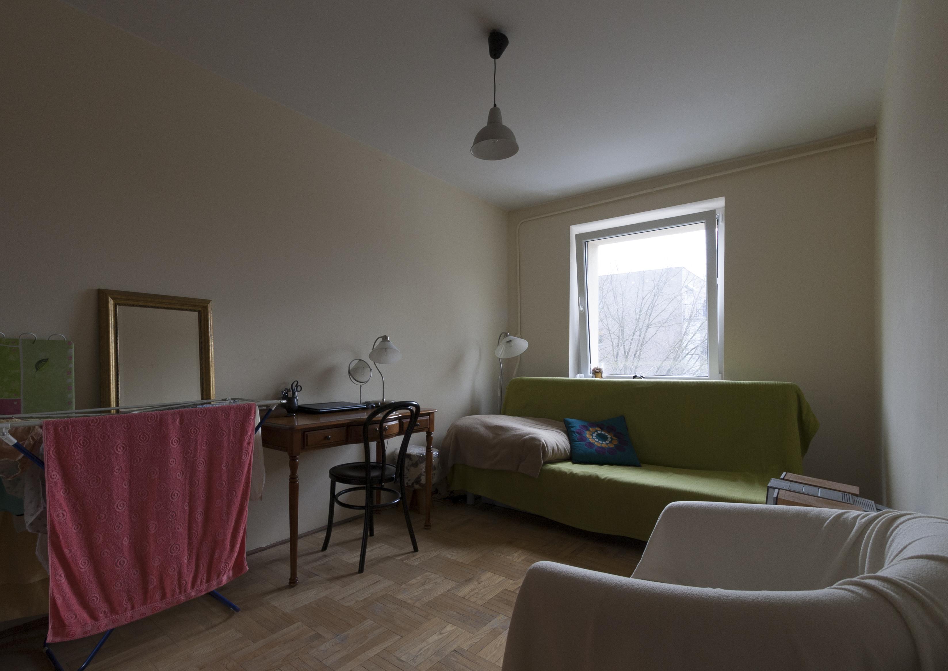 Sypialnia / gabinet - przed zmianą