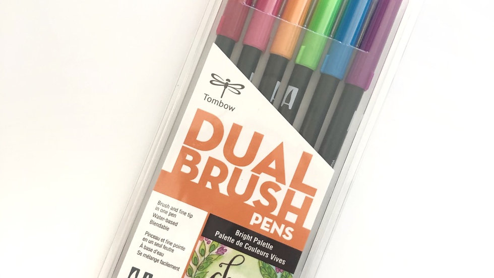 Tombow Dual Brush - Choose happy☺