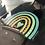 Thumbnail: Rainbow clear sticker 🌈