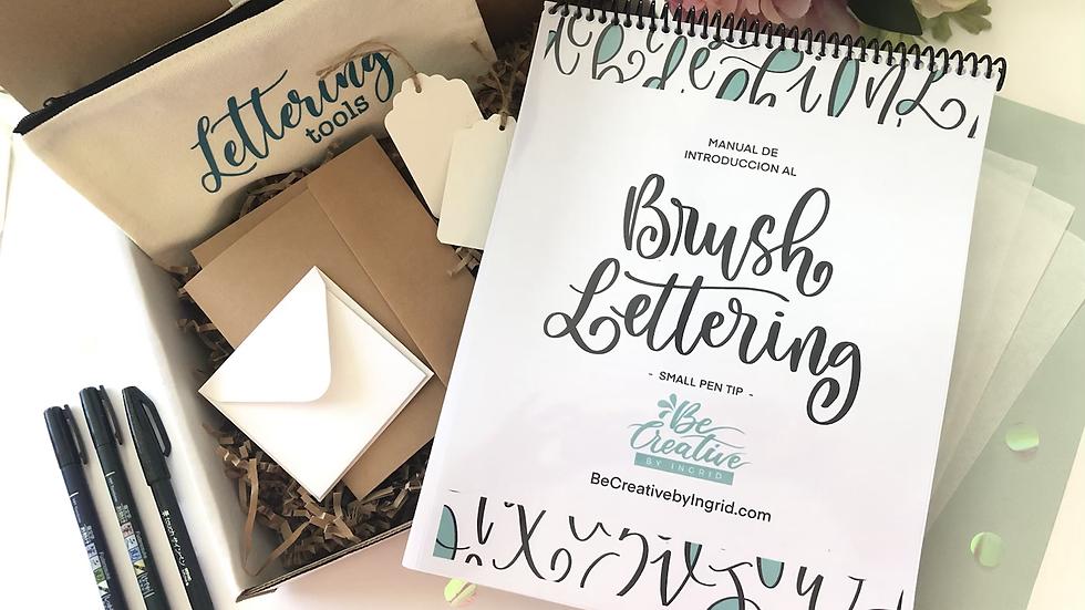 DIY Brush Lettering Kit