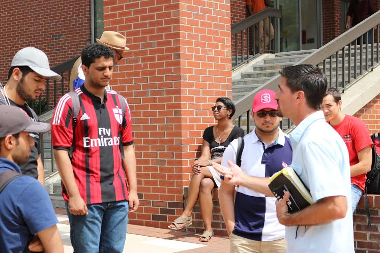 Reaching Muslims at NCSU