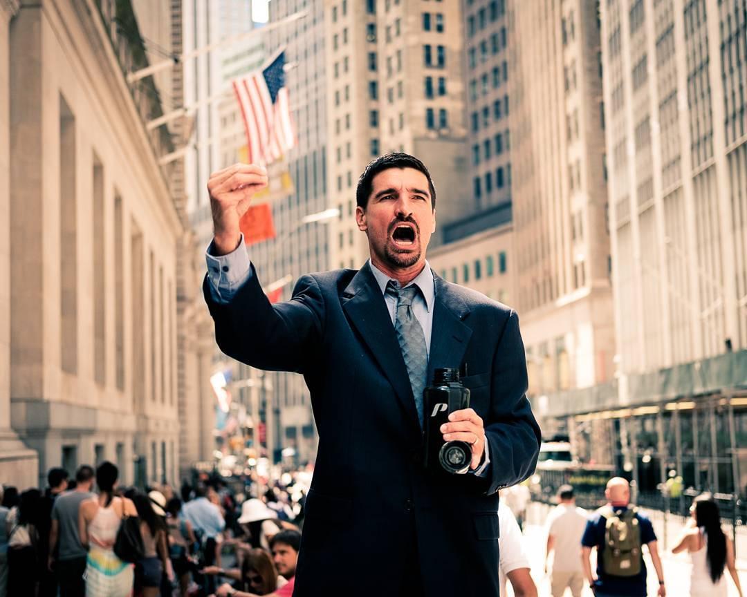 Wall Street NYC 2016