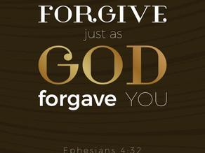 A Secret about Forgiveness