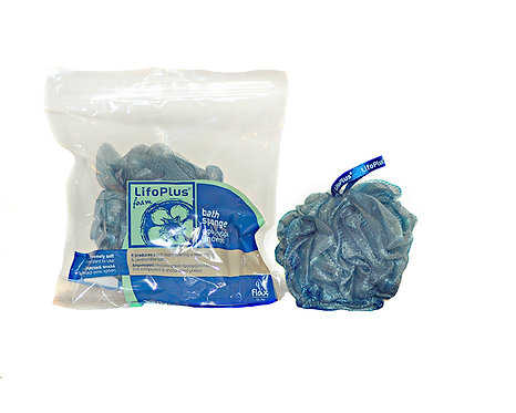 Mesh Sponge 2-colored Blue