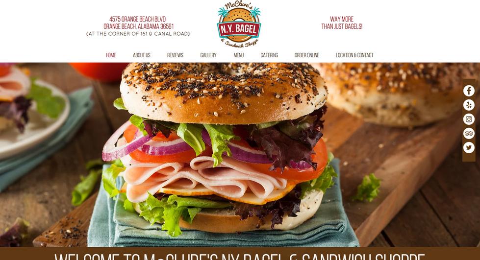 McClure's NY Bagel & Sandwich Shoppe