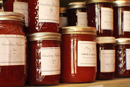 Sweet Grass jams jellies Wessington Springs South Dakota