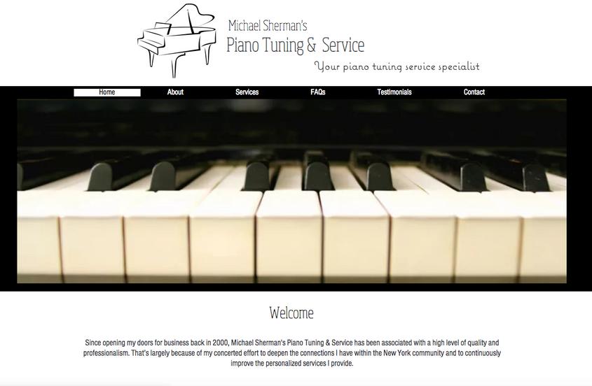 Michael Sherman Piano Tuning & Service