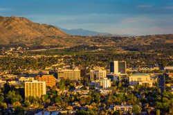 Riverside California skyline