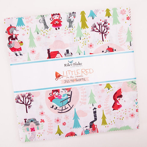 "Little Red in the Woods 10"" Stakes By Jill Howarth"