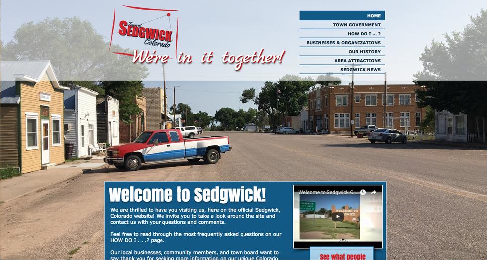 Town of Sedgwick Colorado