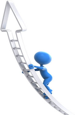 climbing the ladder to reach new levels | Motivational Speaker