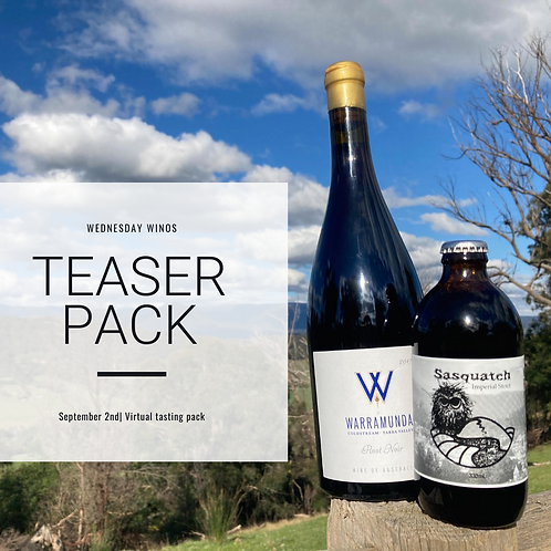 Wednesday Winos Teaser Pack