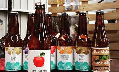 mr little cider bottles