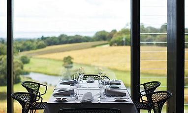 Port Phillip view from restaurant