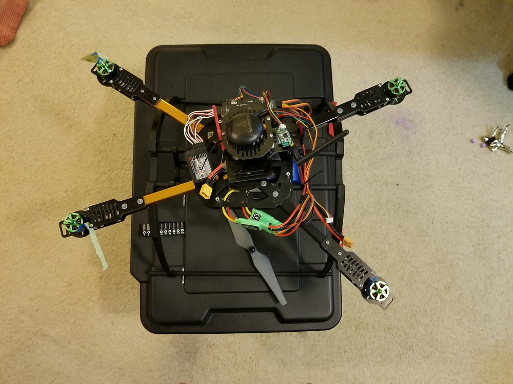 ATF drone in pieces