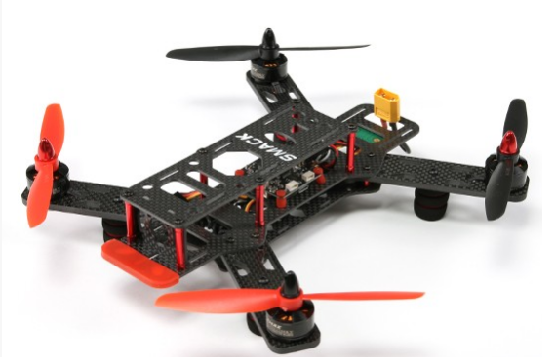 Almost ready to fly drone without flight controller