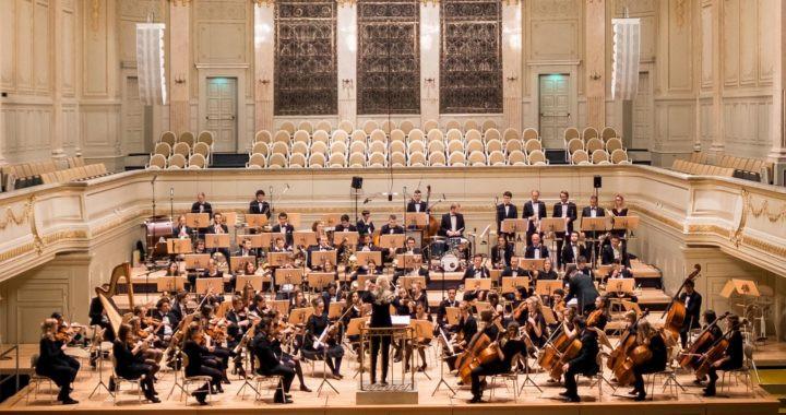 Photo of symphony orchestra