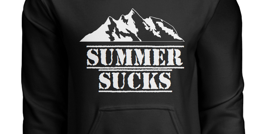 Youth Summer Sucks Hoodie