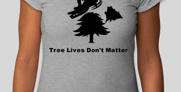 Women's Cut Tree Lives T-shirt