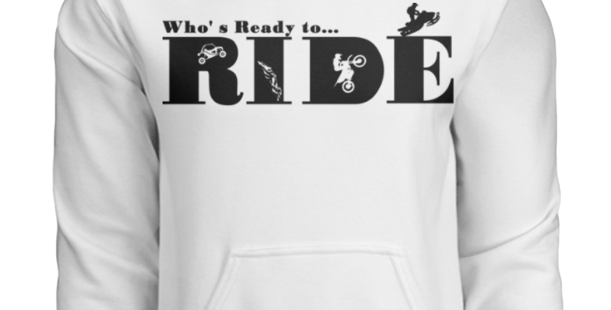 Youth Who's Ready to Ride? Hoodie