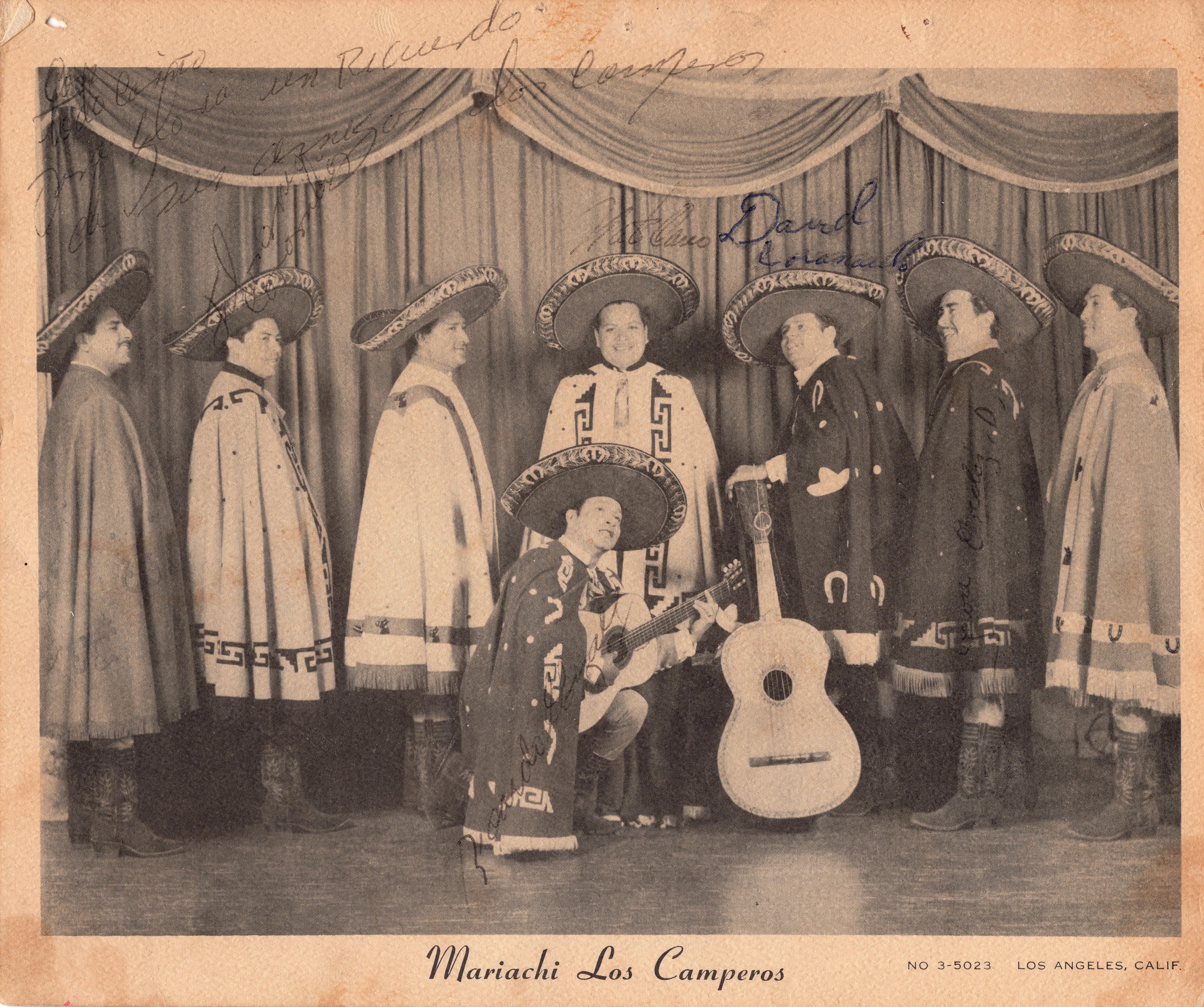 Mariachi Los Camperos 1961