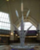 Sculpture in Steel, Newark Train Station