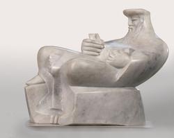 King David White marble 70cm