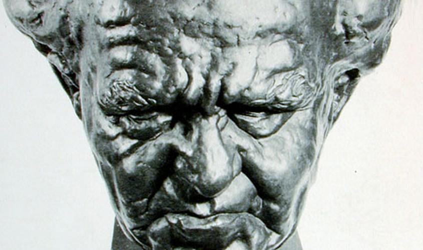 P.M. Ben-Gurion, 70cm, Bronze.