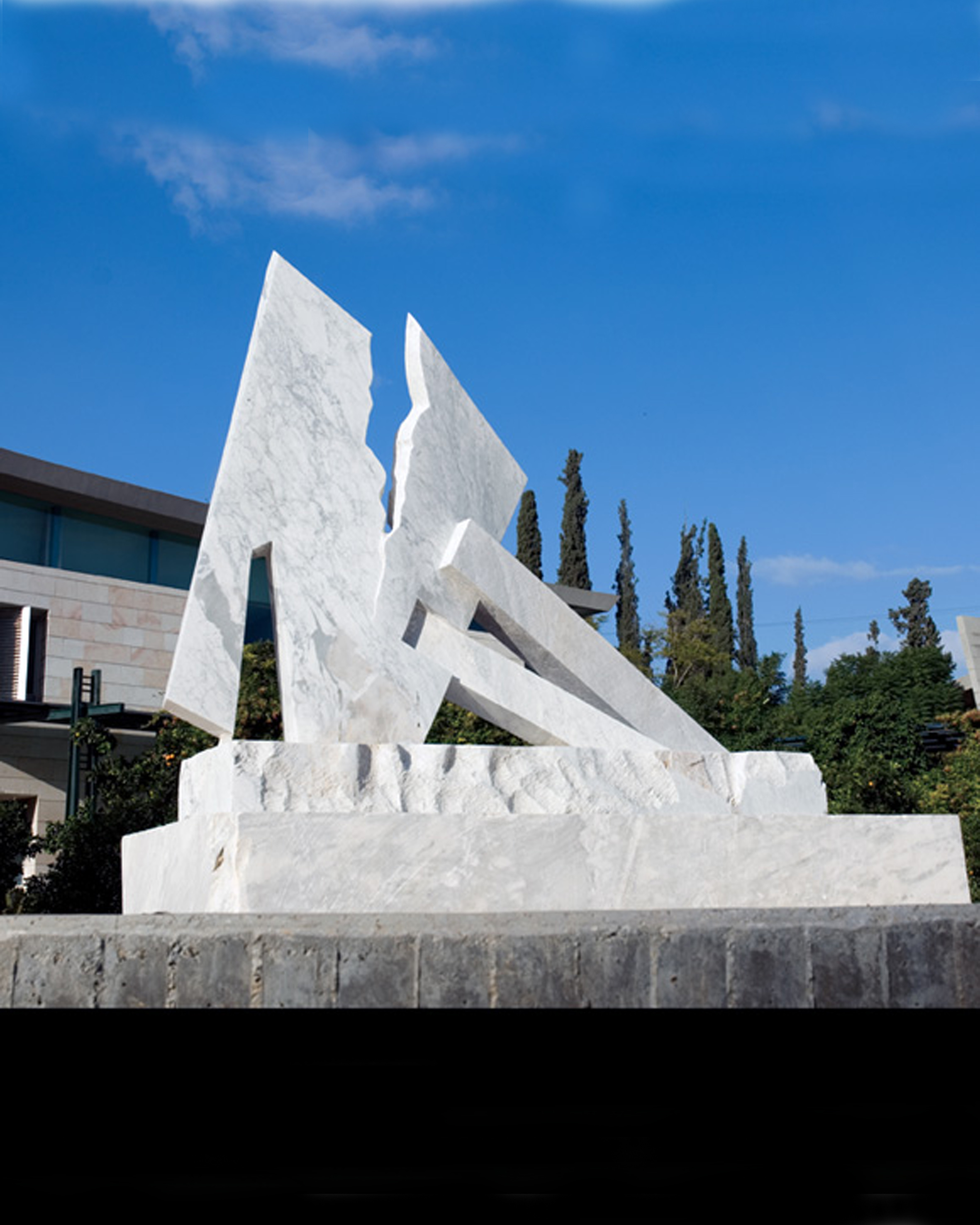 White Carrara marble  weizmann instiute Rehovot H