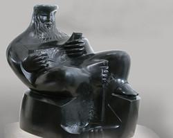 King David black Bronze 70cm