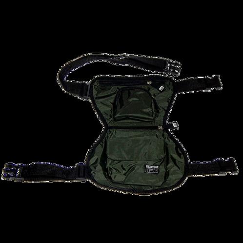 Leg Pack verde militar