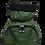 Thumbnail: Mochila com capuz - waterblock - rajada verde