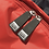 Thumbnail: Mochila com capuz - cinza escuro - capuz interno e bolso externo vermelho