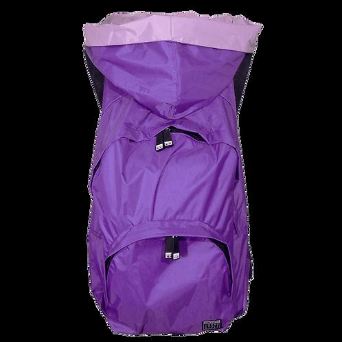 Mochila roxa - capuz interno lilás