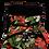 Thumbnail: Mochila com capuz - waterblock - floral preto