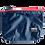 Thumbnail: Mochila com capuz - marinho - capuz interno vermelho