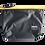 Thumbnail: Mochila com capuz - cinza escuro - capuz interno e bolso externo amarelo