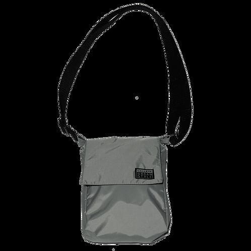 Shoulder bag cinza claro
