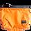 Thumbnail: Mochila com capuz - laranja - capuz interno cinza escuro