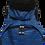 Thumbnail: Mochila com capuz - waterblock - rajada azul